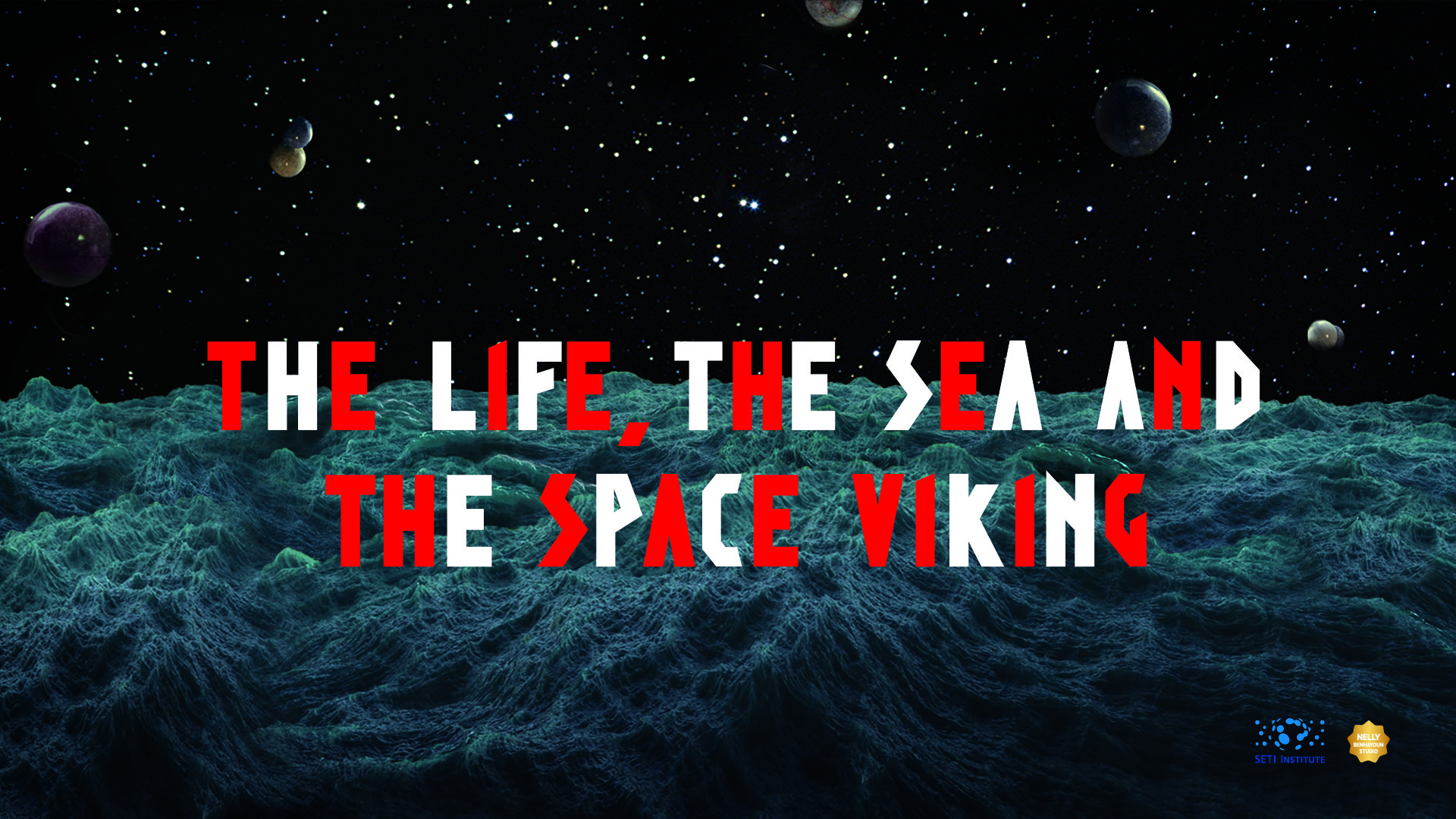 THE LIFE THE SEA AND THE SPACE VIKING - logos SLIDE 2